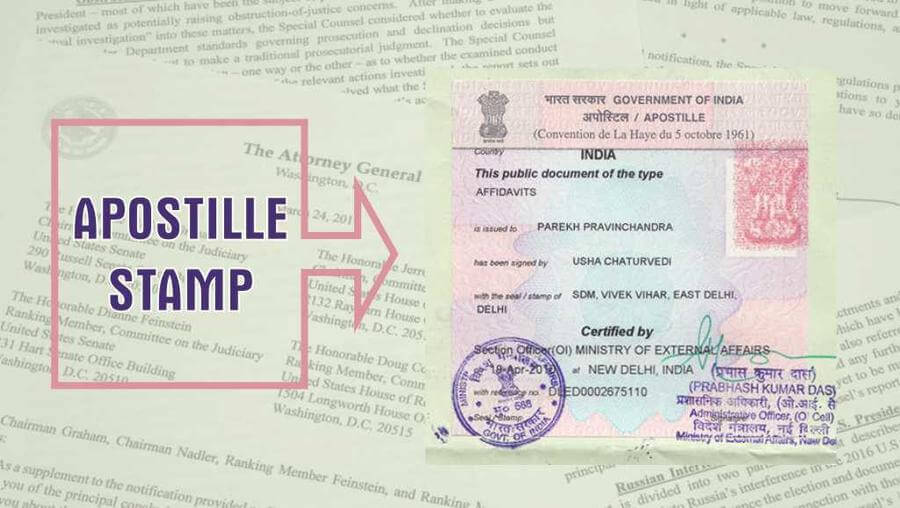 Apostille Services in Bardoli
