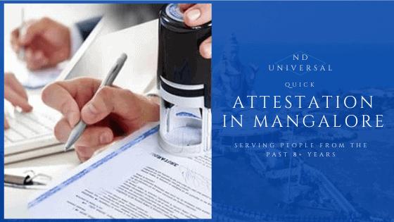 attestation services mangalore